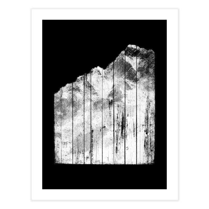 Mountain Home Fine Art Print by bulo