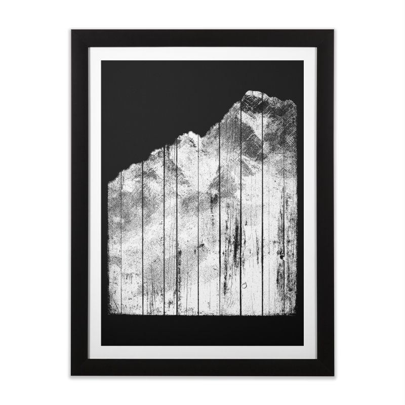 Mountain Home Framed Fine Art Print by bulo