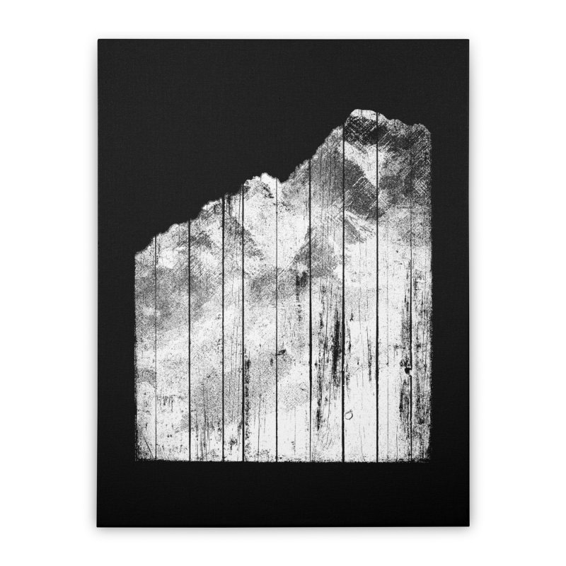 Mountain Home Stretched Canvas by bulo