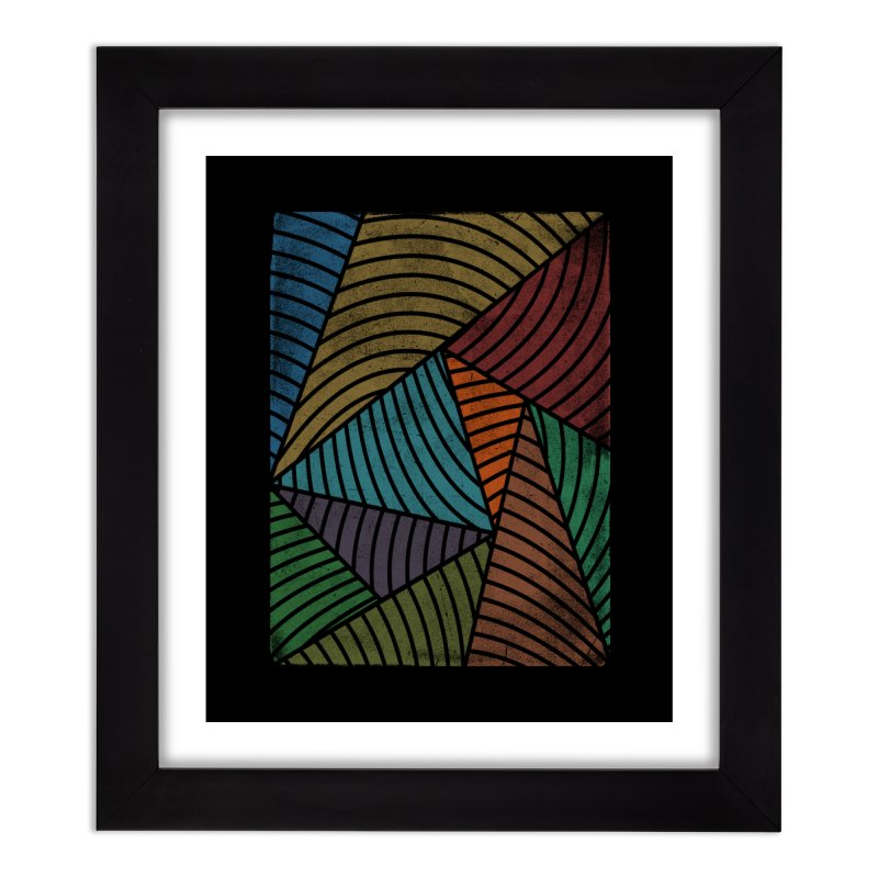 Algorithm Home Framed Fine Art Print by bulo