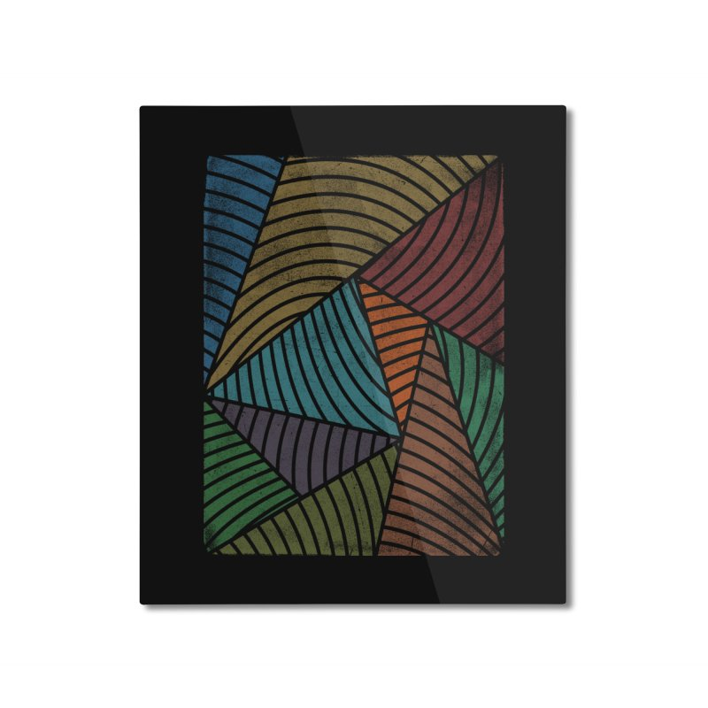 Algorithm Home Mounted Aluminum Print by bulo