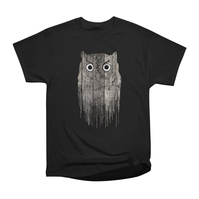 Wooden Owl Men's T-Shirt by bulo