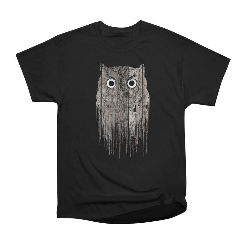 Wooden Owl Women's T-Shirt by bulo