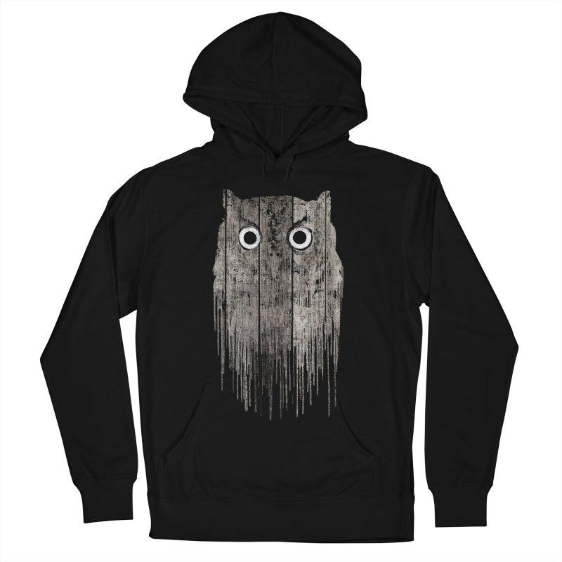 Wooden Owl Men's Pullover Hoody by bulo