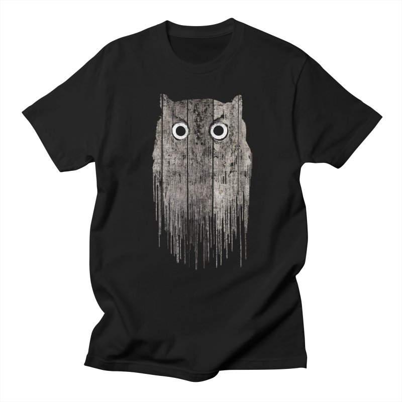 Wooden Owl Men's T-Shirt by bulo