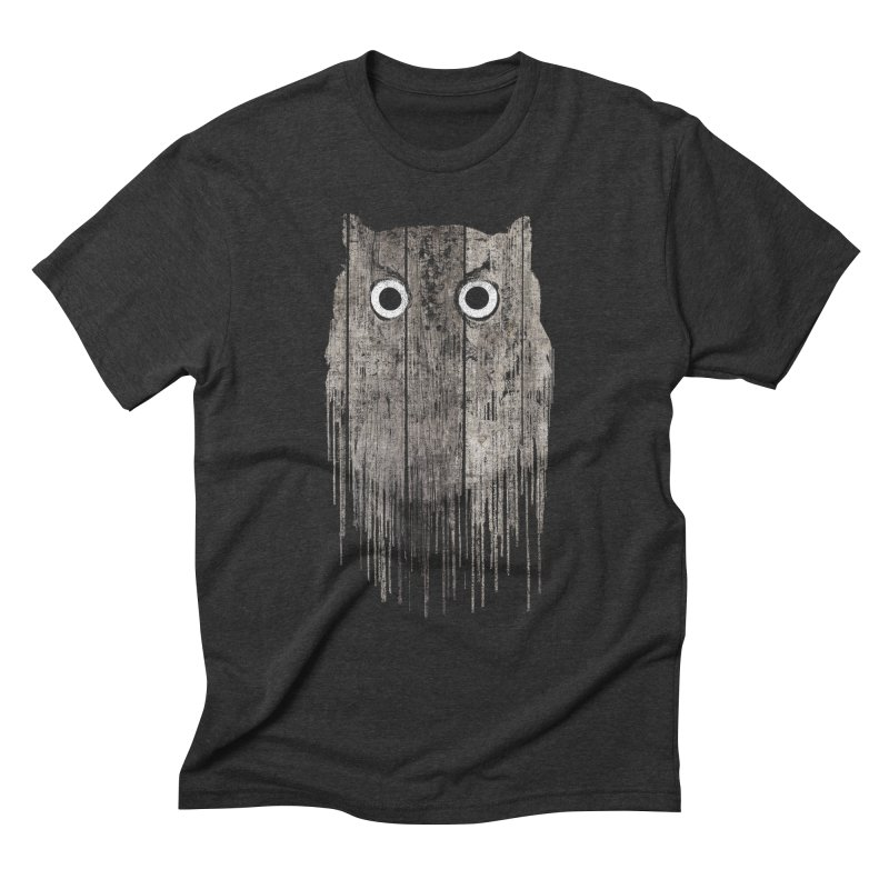 Wooden Owl Men's Triblend T-Shirt by bulo