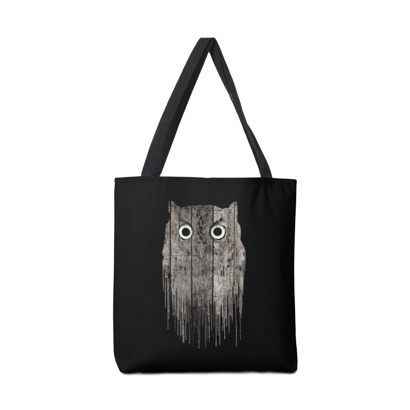 Wooden Owl Accessories Bag by bulo