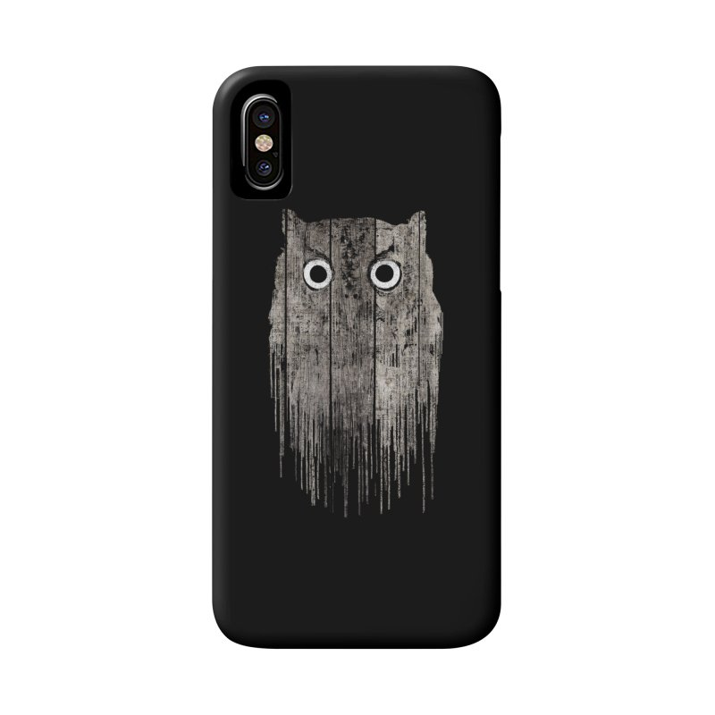 Wooden Owl Accessories Phone Case by bulo