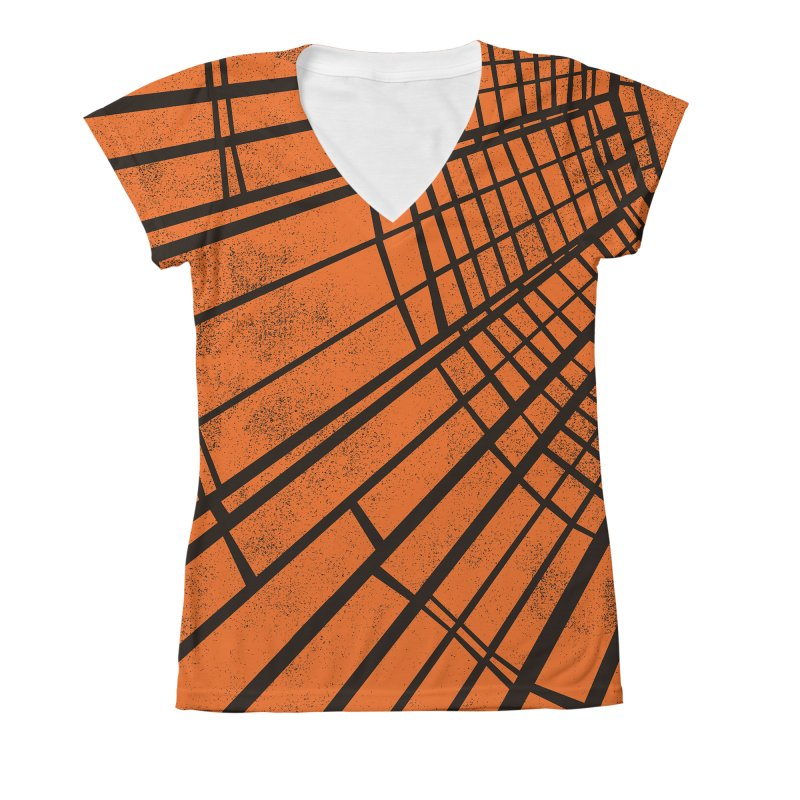 Sunlight Women's V-Neck All Over Print by bulo