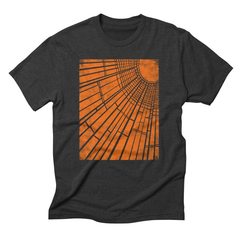 Sunlight in Men's Triblend T-Shirt Heather Onyx by bulo
