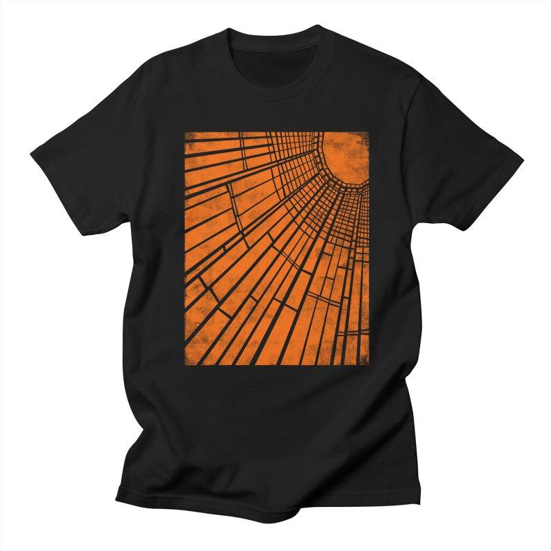 Sunlight in Men's T-Shirt Black by bulo