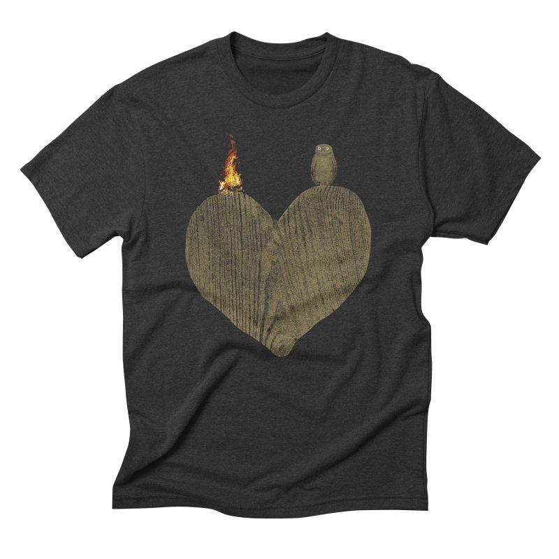 Solitude Men's Triblend T-Shirt by bulo
