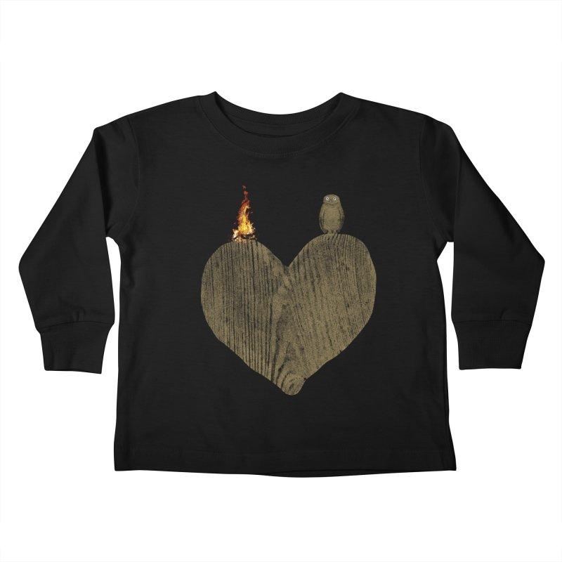 Solitude Kids Toddler Longsleeve T-Shirt by bulo