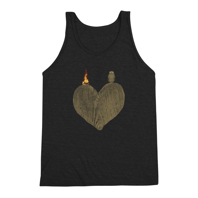 Solitude Men's Triblend Tank by bulo