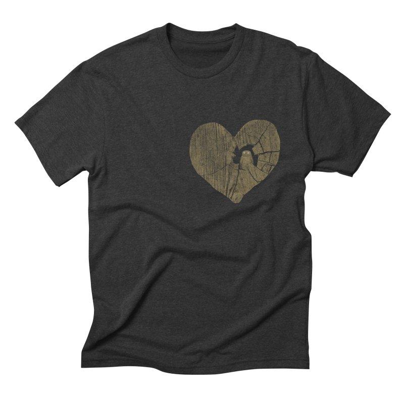 Heartbreak Men's Triblend T-Shirt by bulo