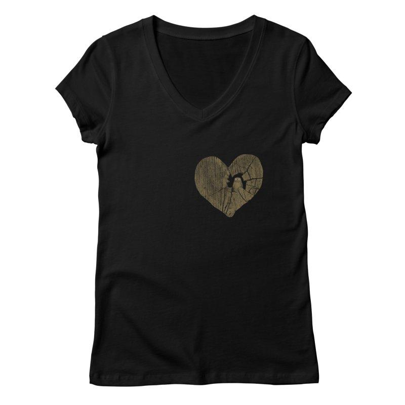 Heartbreak Women's V-Neck by bulo
