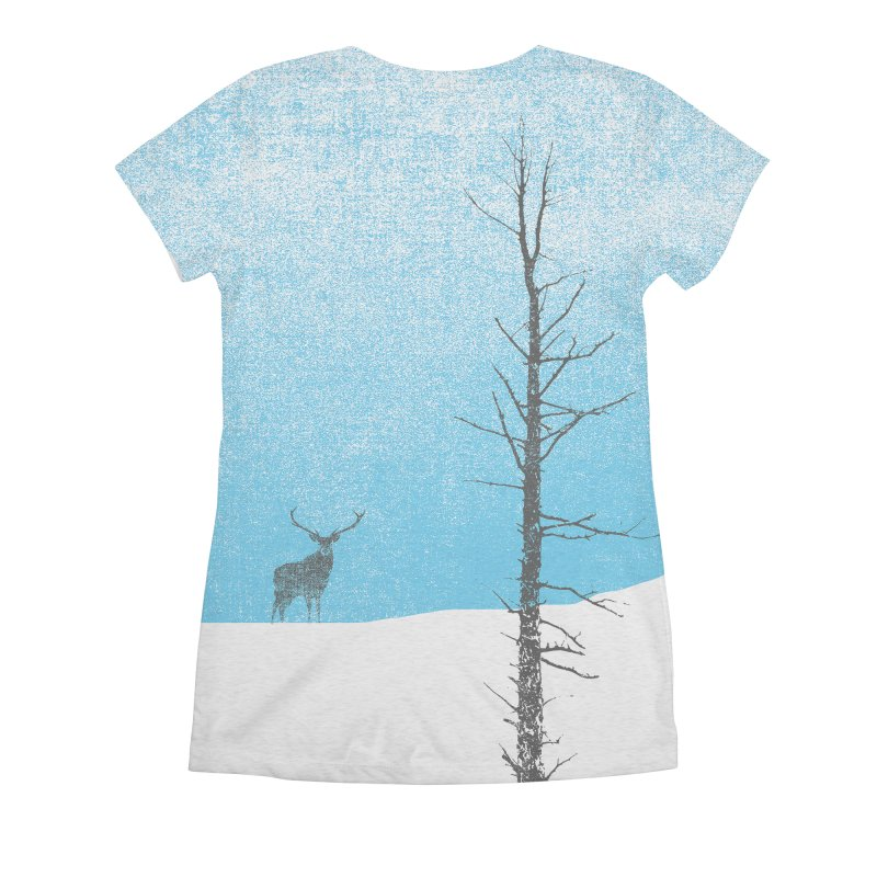Lonely Tree Women's All Over Print by bulo