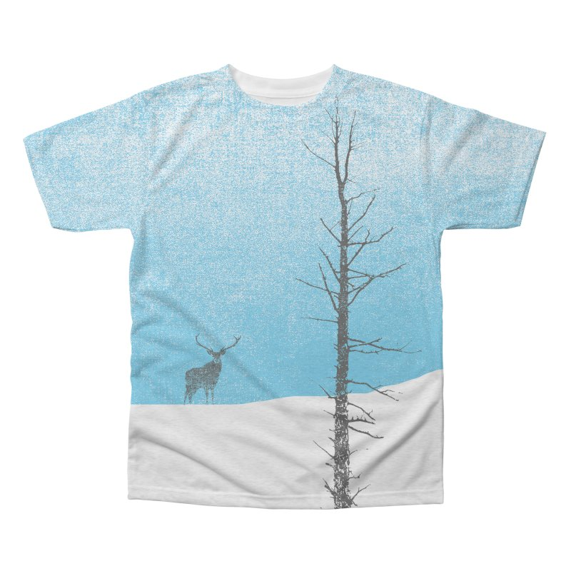 Lonely Tree Men's Triblend All Over Print by bulo
