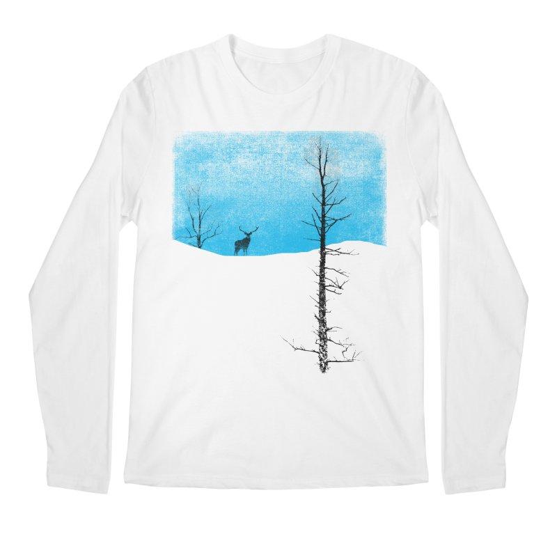 Lonely Tree Men's Longsleeve T-Shirt by bulo