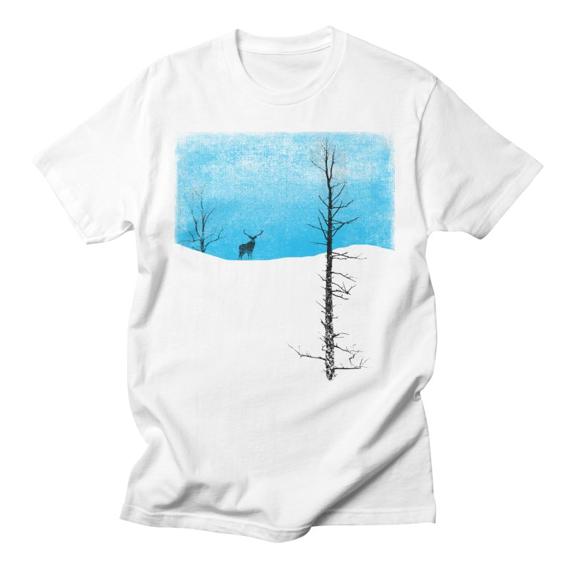 Lonely Tree Men's T-Shirt by bulo