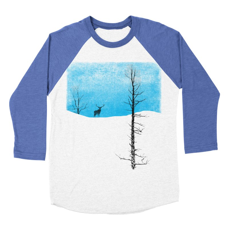Lonely Tree Women's Baseball Triblend T-Shirt by bulo