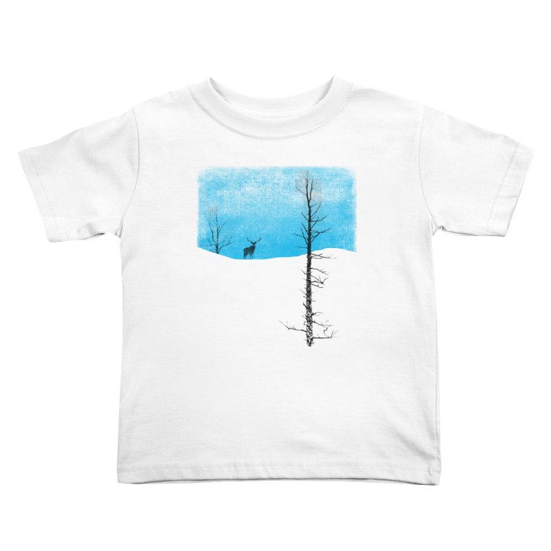 Lonely Tree Kids Toddler T-Shirt by bulo