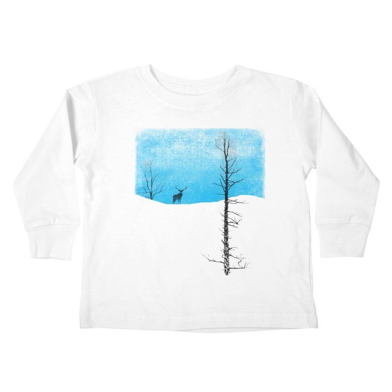 Lonely Tree Kids Toddler Longsleeve T-Shirt by bulo