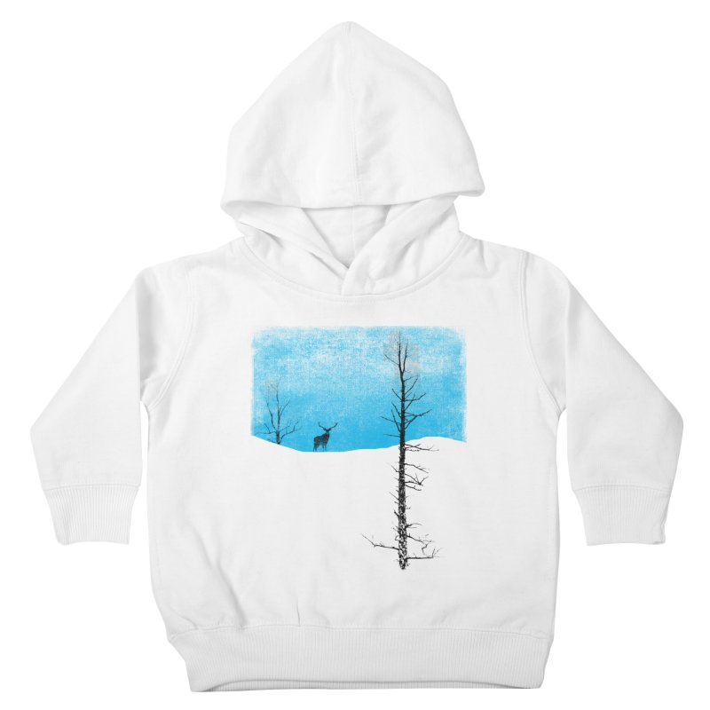 Lonely Tree Kids Toddler Pullover Hoody by bulo