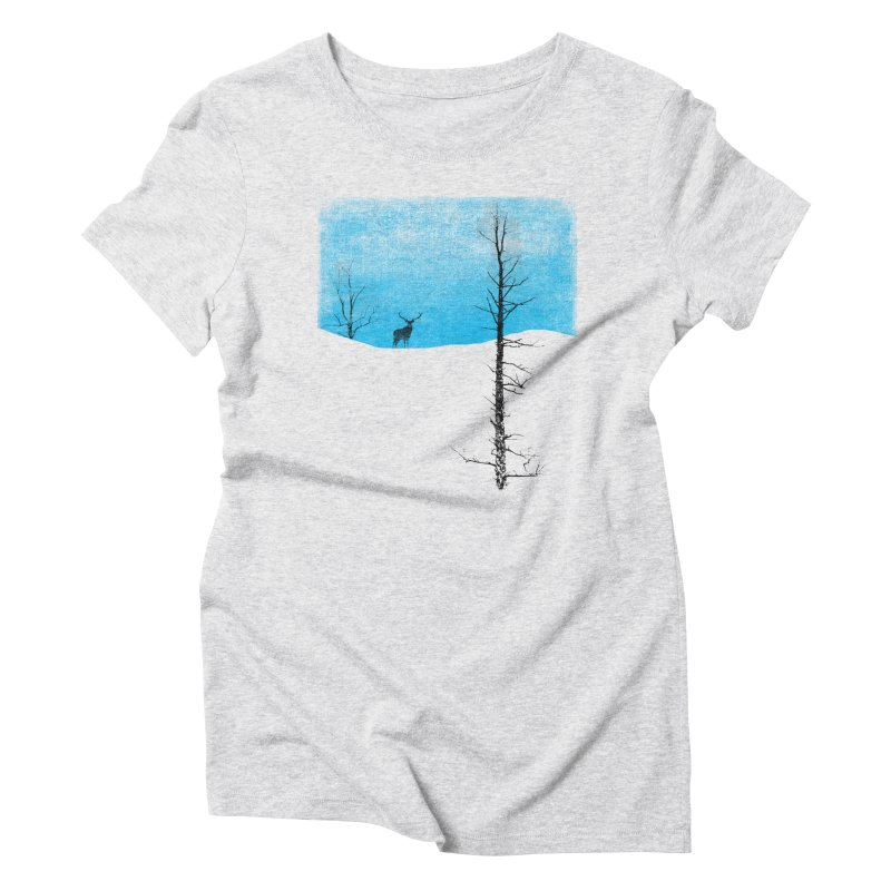 Lonely Tree Women's Triblend T-Shirt by bulo