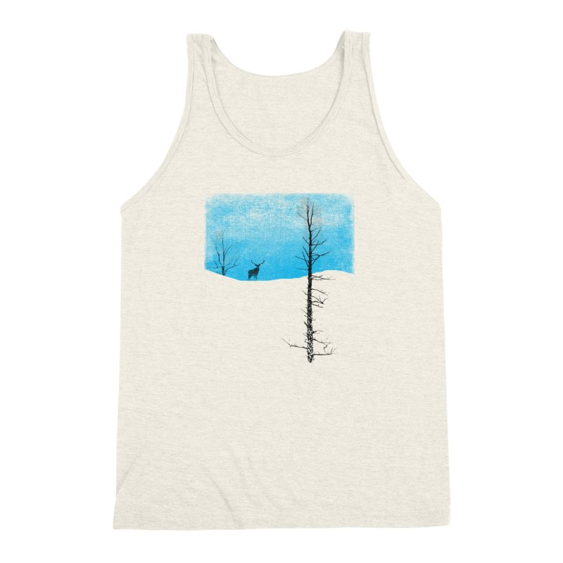 Lonely Tree Men's Triblend Tank by bulo