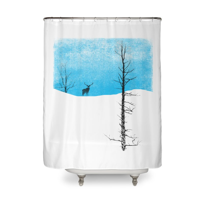 Lonely Tree Home Shower Curtain by bulo