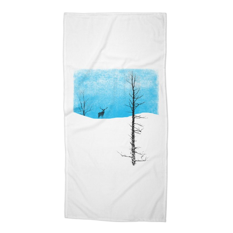 Lonely Tree Accessories Beach Towel by bulo