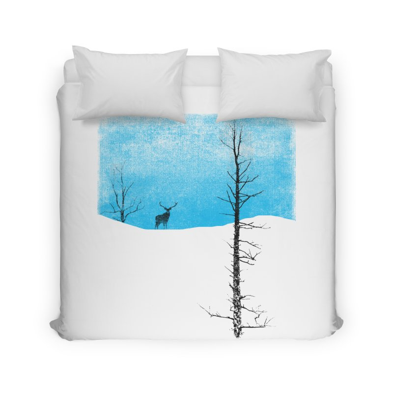 Lonely Tree Home Duvet by bulo