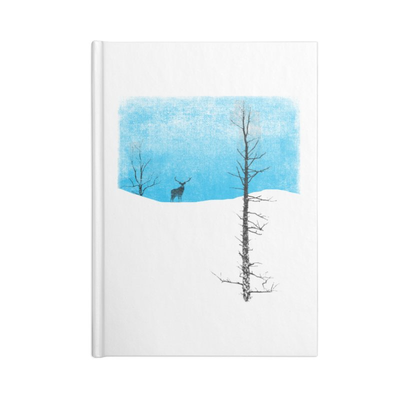 Lonely Tree Accessories Notebook by bulo