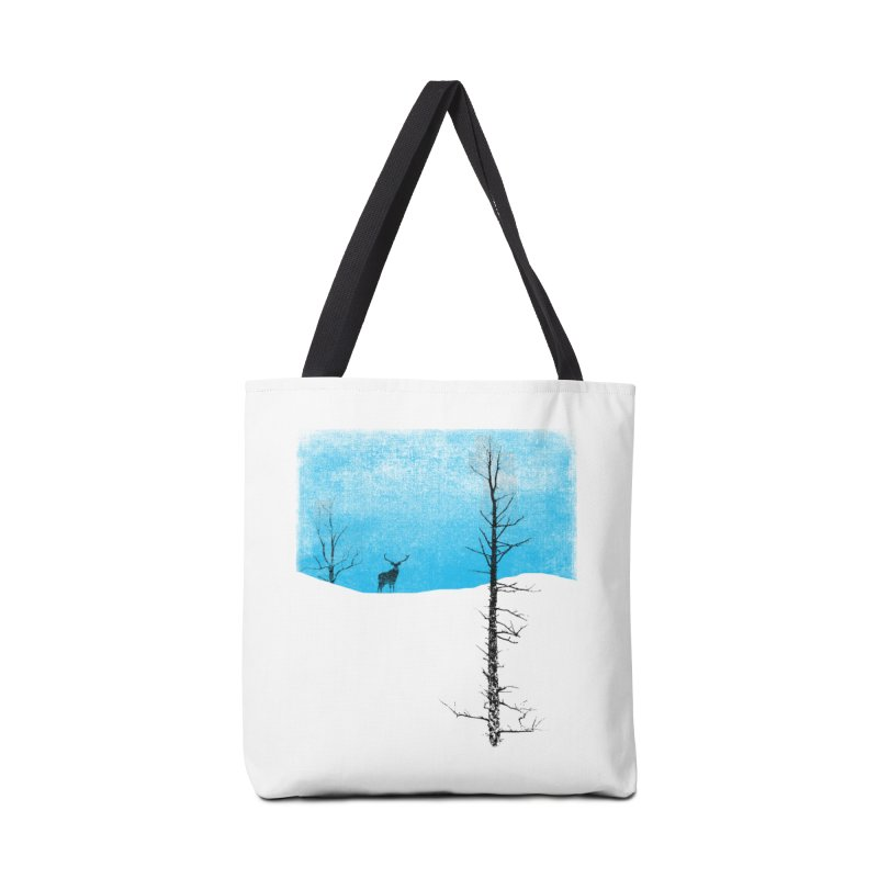 Lonely Tree Accessories Bag by bulo