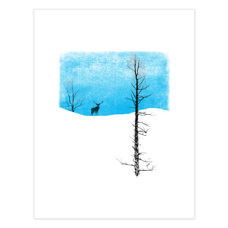 Lonely Tree Home Fine Art Print by bulo