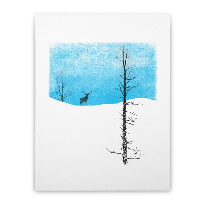 Lonely Tree Home Stretched Canvas by bulo