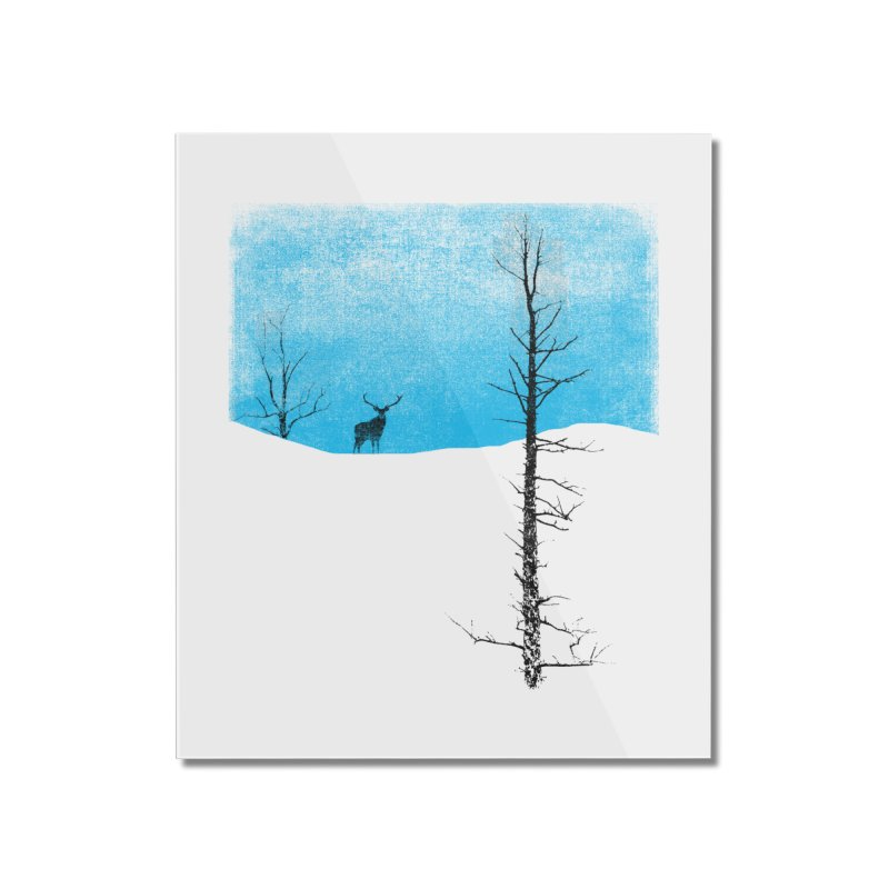 Lonely Tree Home Mounted Acrylic Print by bulo