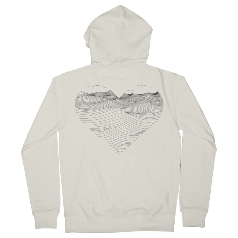 Melancholia Men's Zip-Up Hoody by bulo