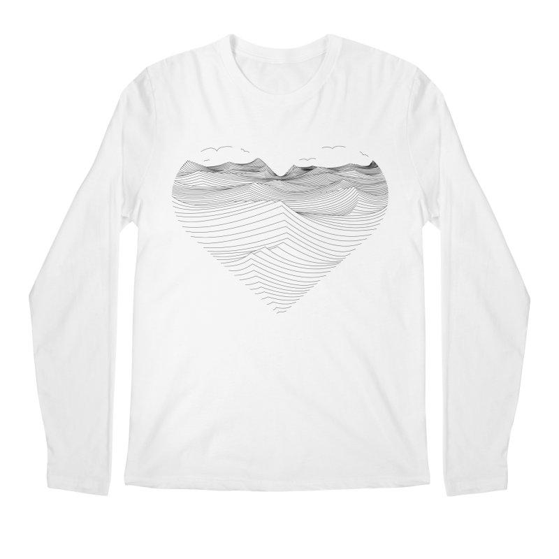 Melancholia Men's Longsleeve T-Shirt by bulo
