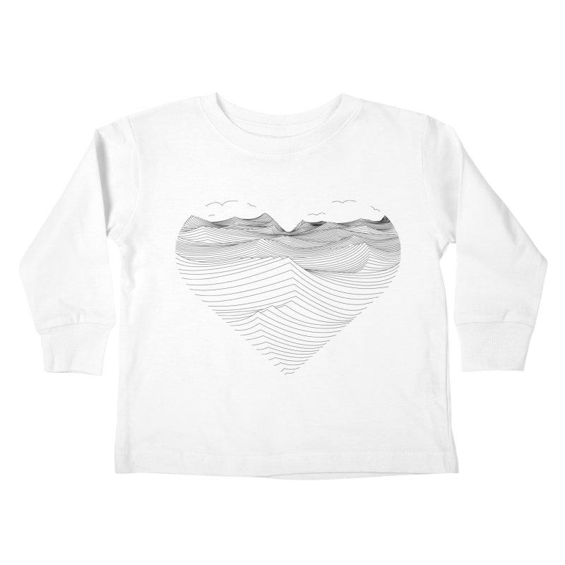 Melancholia Kids Toddler Longsleeve T-Shirt by bulo