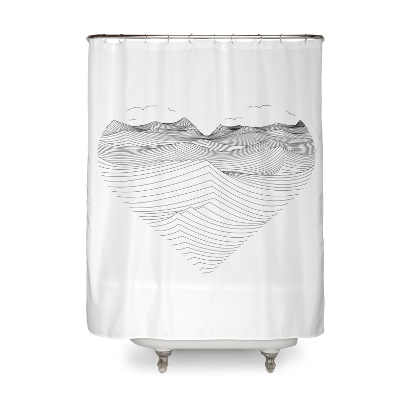 Melancholia Home Shower Curtain by bulo