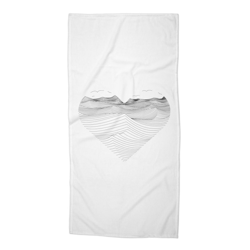 Melancholia Accessories Beach Towel by bulo