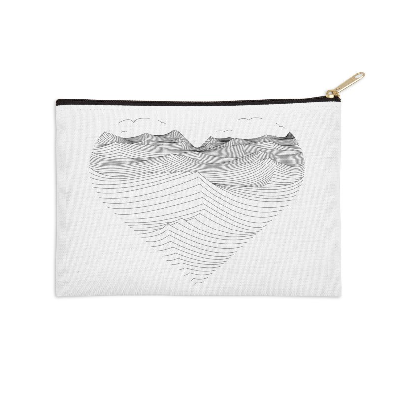 Melancholia Accessories Zip Pouch by bulo