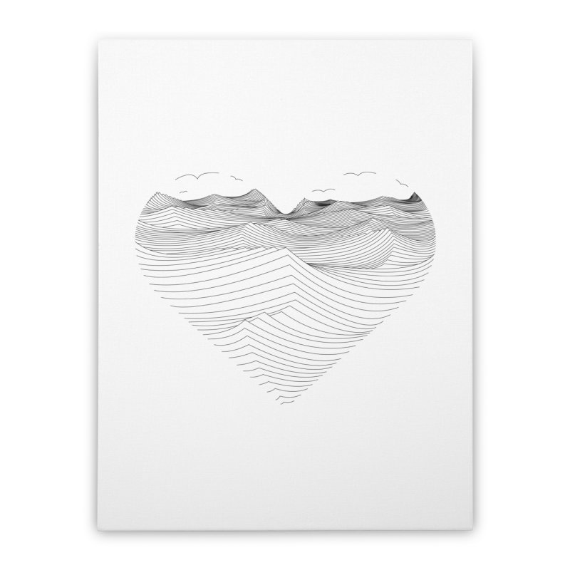 Melancholia Home Stretched Canvas by bulo