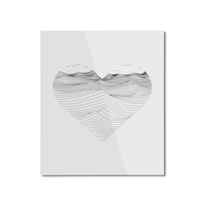 Melancholia Home Mounted Aluminum Print by bulo