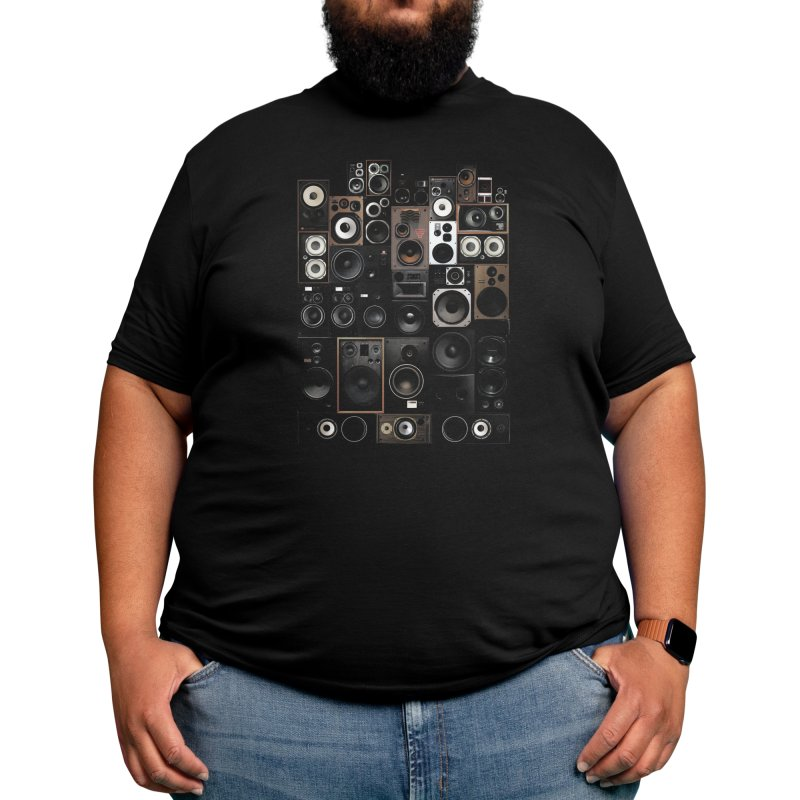 Audio Men's T-Shirt by bulo