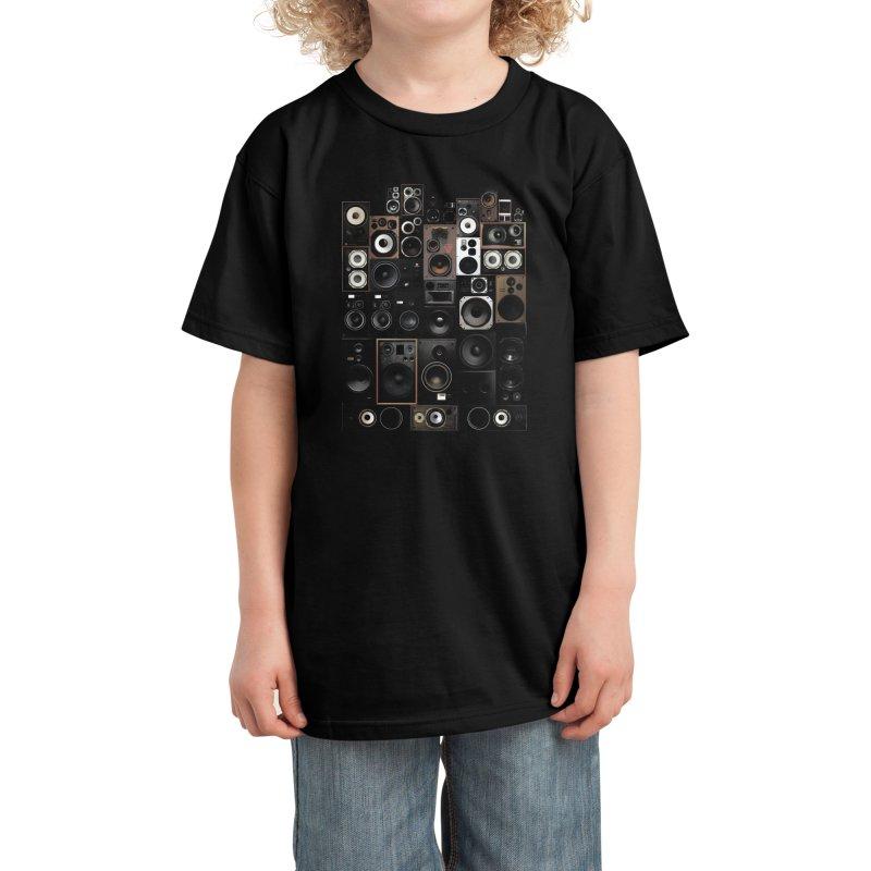 Audio Kids T-Shirt by bulo