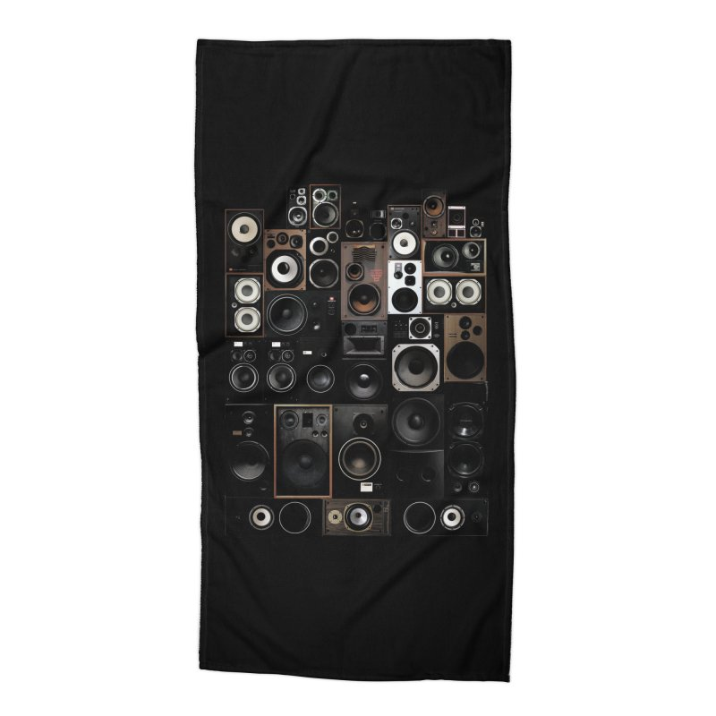 Audio Accessories Beach Towel by bulo