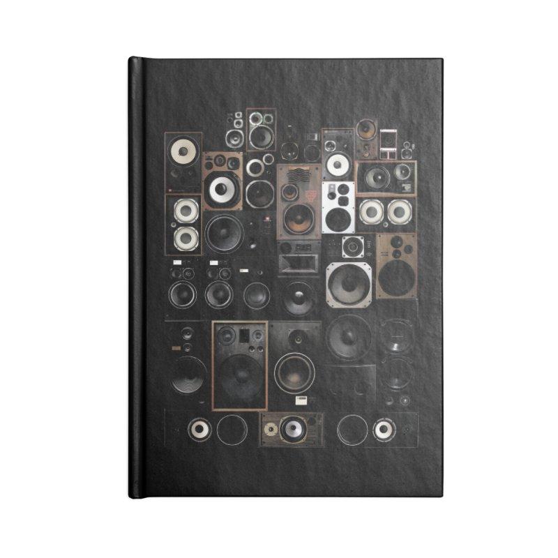 Vintage Speakers Accessories Notebook by bulo